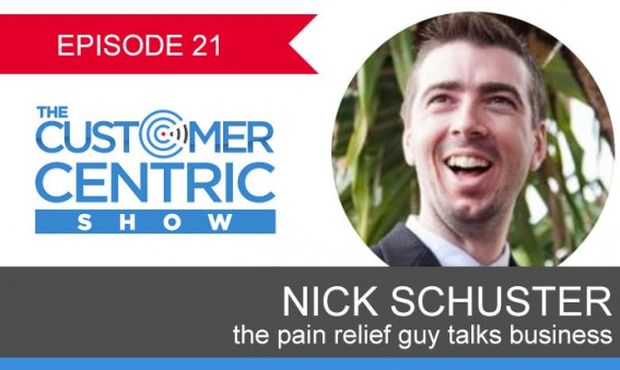 21. Talking Business with The Pain Relief Guy, Nick Schuster