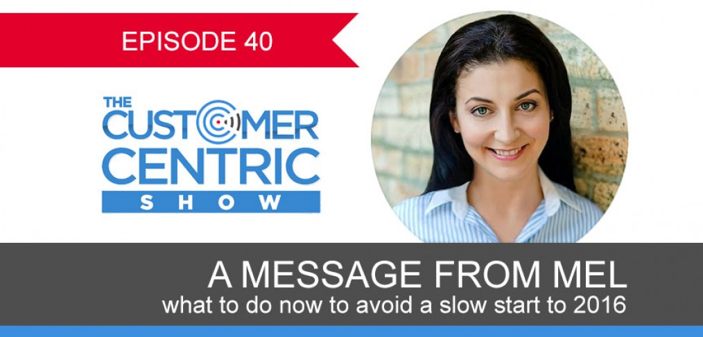 40. What To Do Now To Avoid A Slow Start To 2016